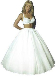 1d464df5fba05 New Full Bridal Petticoat Wedding Gown Slip (444V)  69.95 -  79.95 Wedding  Accessories