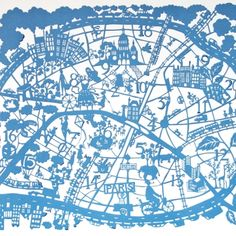 Paris by design Map
