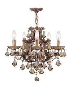 With Gold Nine Light Chandelier 1628 Home Lighting Chandelier