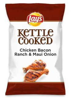 Wouldn't Chicken Bacon Ranch & Maui Onion be yummy as a chip? Lay's Do Us A Flavor is back, and the search is on for the yummiest flavor idea. Create a flavor, choose a chip and you could win $1 million! https://www.dousaflavor.com See Rules.
