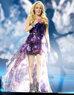 Carrie Underwood, performing while on tour for her Blown Away Tour!!!