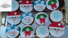 ΧΡΙΣΤΟΥΓΕΝΝΙΑΤΙΚΑ ΜΠΙΣΚΟΤΑ ΤΖΙΝΤΖΕΡΜΠΡΕΝΤ ΜΕ ΖΑΧΑΡΟΠΑΣΤΑ Happy Hollidays, Christmas Cookies, Nutella, Fondant, Cake Decorating, Easy Meals, Xmas, Holiday Decor, Sweet