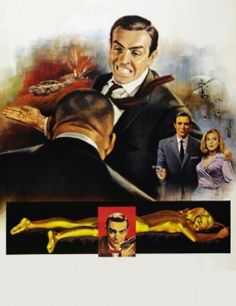 Goldfinger (1964) movie #poster, #tshirt, #mousepad, #movieposters2
