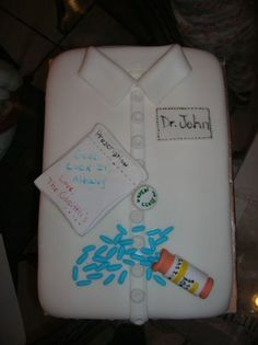 Good Luck In Pharmacy College  on Cake Central