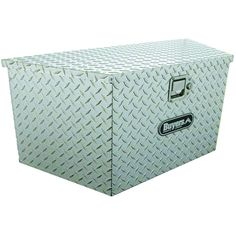Buyers Products Company 34 in. Aluminum Trailer Tongue Tool Box, Silver