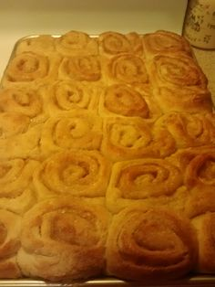 Homemade Cinnamon Rolls...right out of the oven!
