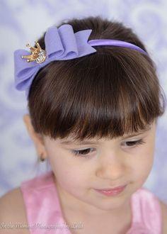 Lavender Crown Headband for от SwankyPickleBoutique на Etsy
