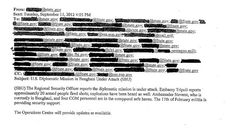 White House knew of extremist claims in Benghazi attack