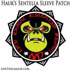 The sleeve patch from Hauk's Sentella uniform (The League)