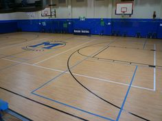 Tarkett Sports Omnisports 6.5 installed in Golden Maple design in Marlboro, NJ