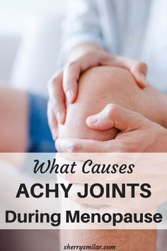 If you are experiencing achy joints during menopause, you are not alone. This common symptom of menopause can have several causes