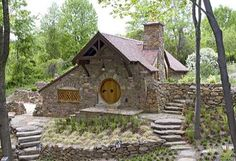 24 Best Tiny Stone Homes Images Small