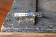 Barrels Hippie Aluminum Cuff