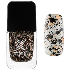 I own my own beauty salon where we do a lot of unique nail designs and believe in utilizing all different types of nail techniques. A few of my clients have brought up Formula X for Sephora which lead me to investigate this brand, and I must say all of my clients (myself included) LOVE Formula X!!!#SephoraSweeps