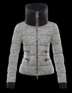 Doudoune en laine bio d alpaga Moncler