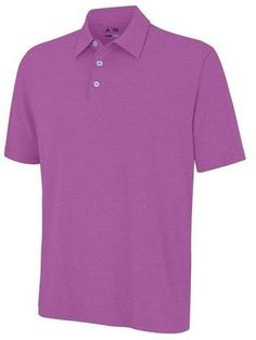 adidas ClimaLite Solid Jersey Golf Polo 2015