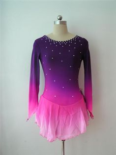 Nice custom Figure skating Competition dress 5093