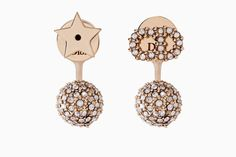 """La petite Tribale"" earrings in gold-tone metal - Earrings Dior"