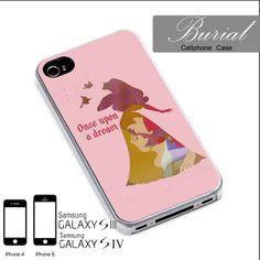 Disney Princess Aurora Quote Case For iPhone 4/4S,iPhone 5,iPhone 5S,iPhone 5C,Samsung Galaxy S2/S3/S4,Galaxy S4 Mini