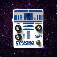 Star wars R2D2 effect pedal. Guitar FX : Pearl/Vorg Warp Sound. http://effectivywonder.com/