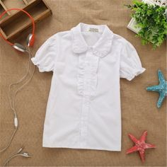 baby kids girls blouse white shirts  Price: 14.68 & FREE Shipping  #baby #newborn #infant #dress
