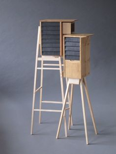 Sarah Myerscough is a London art gallery representing contemporary painters, photographers and international craft and design that focuses on wood and ceramic. Wood Furniture, Furniture Design, Furniture Ideas, Bathroom Tower, David Gates, Desk Cabinet, Smart Design, Design Design, Wood Stone
