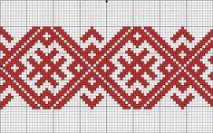 """Another good pattern. Ostensibly an """"amulet"""" pattern to bless the wearer. Russian Embroidery, Blackwork Embroidery, Folk Embroidery, Cross Stitch Embroidery, Embroidery Patterns, Inkle Weaving, Inkle Loom, Bead Loom Patterns, Mosaic Patterns"""