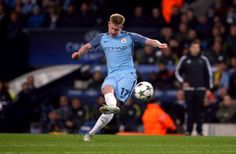 KDB scoring against Barcelona (we won 3-1)