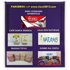 ALGUMAS DAS PARCERIAS DO www.riosul2012.com