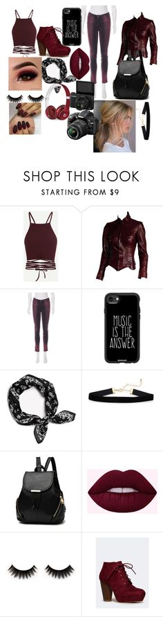 """""""yay"""" by lost-in-stereo-atl on Polyvore featuring Roberto Cavalli, Casetify, Beats by Dr. Dre and Nikon"""