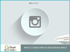 What comes new in Instagram Reel? BEST MEDIA DESIGNER! Most Popular Social Media, Things To Come, Graphic Design, Instagram, Visual Communication