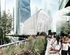 #render- Diller Scofidio + Renfro - proposal for Hudson Yards