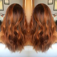 copper balayage - Google Search