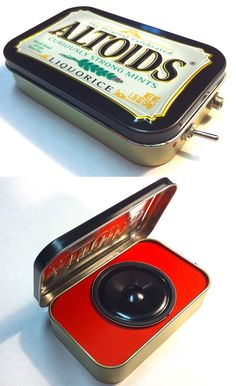 Portable Amp and Speaker for MP3 Player by ampoids