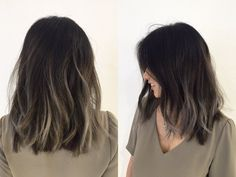 Are you going to balayage hair for the first time and know nothing about this technique? We've gathered everything you need to know about balayage, check! Hair Color Asian, Ombre Hair Color, Brown Hair Colors, Asian Ombre Hair, Balayage Asian Hair, Peekaboo Hair Colors, Mode Rose, Pinterest Hair, Hair Looks