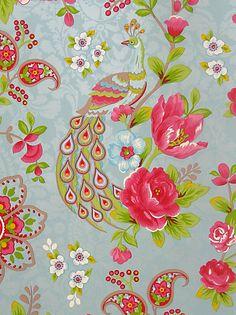 Buy PiP Studio Flowers in the Mix Wallpaper, Dark Blue, 313054 online at JohnLewis.com - John Lewis