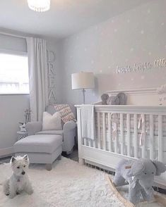 White Star Decals, Nursery Wall Decals, Wall Stickers, Childrens Wall Decor, Mixed Size Stars