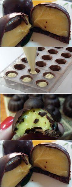 APRENDA A FAZER ESSE DELICIOSO BOMBOM DE LIMÃO!! ❤️ VEJA AQUI>>.Em uma panela, misture o leite condensado e a margarina. Leve ao fogo, mexendo sem parar até desgrudar do fundo da panela. #receita#bolo#torta#doce#sobremesa#aniversario#pudim#mousse#pave#Cheesecake#chocolate#confeitaria Chocolates, Ramadan Recipes, Fancy Desserts, Cordon Bleu, Drip Cakes, No Bake Cake, Diet Recipes, Deserts, Food And Drink