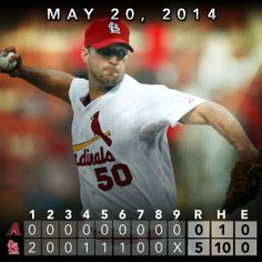 Wainwright tosses 1-hit shutout on way to Cardinals' win.  5/20/14