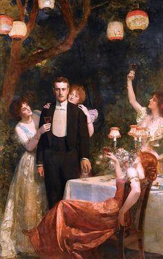 Collier, Hon. John Maler (b,1850)- Toast- Garden of Armida -2b {Duplicate Variation is in Wine (hard) #1- this has better definition}