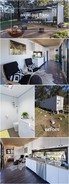 Container Bachelors house Australia