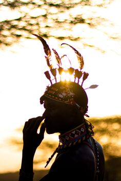#Samburu man - Kenya