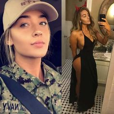 36 Pics of Beautiful Girls With And Without Uniform Will Shock You 36 fotos de chicas hermosas con y sin uniforme te sorprenderán – FunRare Good Woman, Sexy Women, Badass Women, Mädchen In Uniform, Female Army Soldier, Military Women, Military Army, Girls Uniforms, Sport Girl