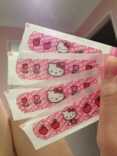 Imagem de hello kitty, pink, and cute Photographie Indie, Hello Kitty Items, Hello Kitty Things, Hello Kitty House, Hello Kitty Accessories, Sanrio Characters, Band Aid, Indie Kids, Up Girl