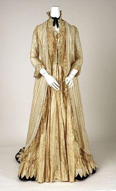 Tea Gown   c.1880's  The Metropolitan Museum of Art