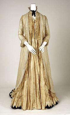 Tea Gown   c.1880's  The Metropolitan Museum of Art