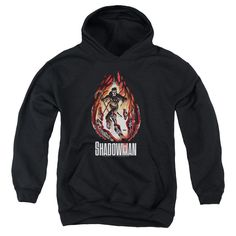 Shadowman/Burst Youth Pull-Over Hoodie in