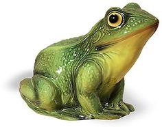 Ceramic Garden Frog Statue Available At AllSculptures.com