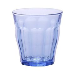 Duralex - Picardie  / oz Glass Set of  - Blue featuring polyvore, home, kitchen & dining, drinkware, blue, blue tumbler, duralex, duralex tumbler, duralex glasses and blue drinkware