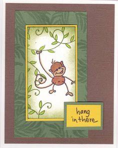 Hang in there Changito by detour3 by detour3 - Cards and Paper Crafts at Splitcoaststampers. Y